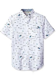 Original Penguin Men's Intermittent Paintbrush Shirt