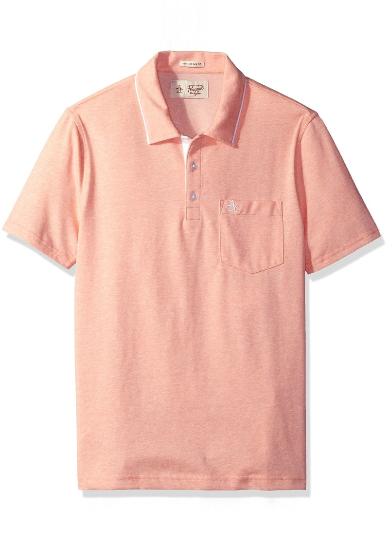 Original Penguin Men's Jaspe Fashion Mearl Polo