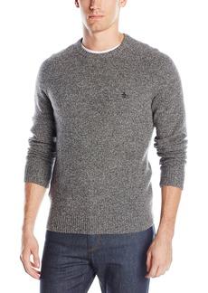 Original Penguin Men's Lambswool Crew Neck Sweater