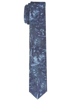 Original Penguin Men's Lemongrass Floral Tie navy