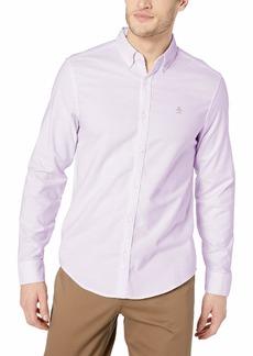 Original Penguin Men's Long Sleeve Core Oxford Button Down Shirt with Stretch  XL
