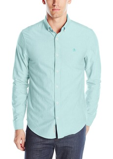 Original Penguin Men's Long Sleeve Core Updated Oxford Shirt