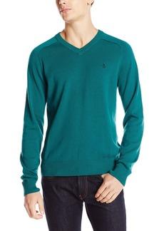 Original Penguin Men's Long Sleeve Fully Fashioned Sweater