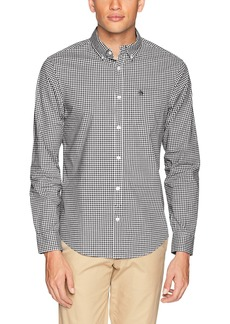 Original Penguin Men's Long Sleeve Gingham Button Down Shirt