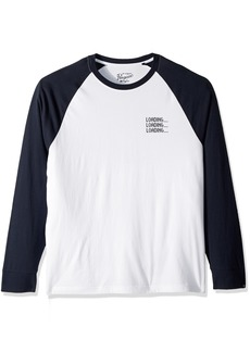 Original Penguin Men's Long Sleeve Graphic Tee  M