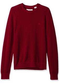 Original Penguin Men's Long Sleeve Honeycomb Sweater pomegranate