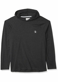 Original Penguin Men's Long Sleeve Hooded Knit  X Large
