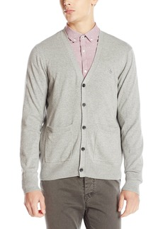 Original Penguin Men's Long Sleeve Jersey 5 Button CA