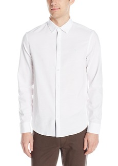 Original Penguin Men's Long Sleeve Oxford Button Down Shirt