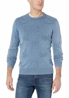 Original Penguin Men's Long Sleeve Patterned Sweater  XL