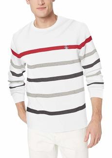 Original Penguin Men's Long Sleeve Stripe Tee  X Large