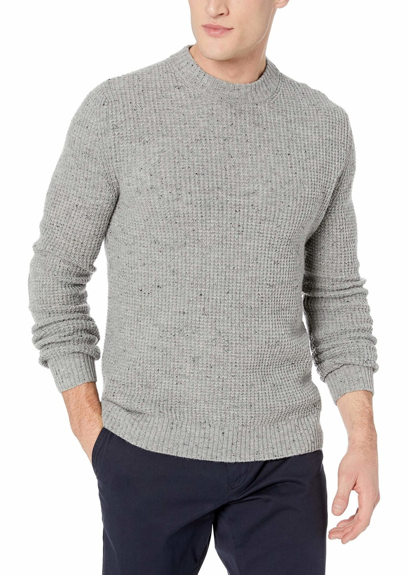 Original Penguin Men's Long Sleeve Textured Sweater rain heather XL
