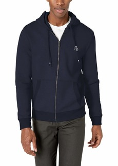 Original Penguin Men's Long Sleeve Zip Up Hoodie  L