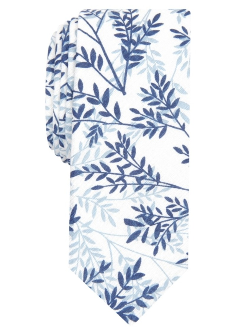 Original Penguin Men's Lyle Botanical Skinny Tie