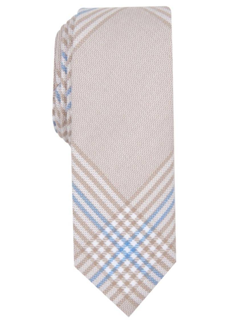 Original Penguin Men's Maude Skinny Plaid Tie
