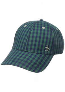 Original Penguin Men's Mini Check Baseball Cap
