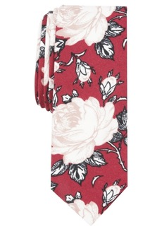 Original Penguin Men's Morten Skinny Floral Tie