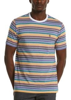 Original Penguin Men's Multicolor Fine Striped Cotton T-Shirt