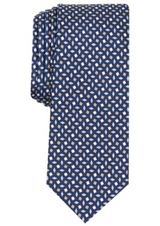 Original Penguin Men's Murray Neat Skinny Silk Tie