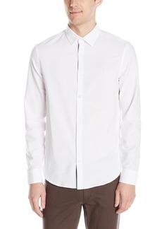 Original Penguin Men's Long Sleeve Oxford Button Down Shirt