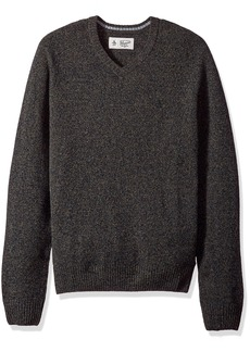 Original Penguin Men's P55 100% Lambswool V-Neck Sweater  Extra Large