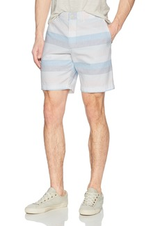 "Original Penguin Men's P55 8"" Horizontal Dobby Stripe Short"