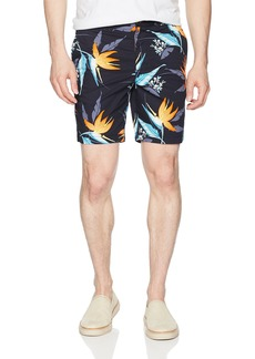 "Original Penguin Men's P55 8"" Stretch Tropical Floral Short"