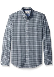 Original Penguin Men's P55 Mini Plaid Dress Shirt  Extra Extra Large