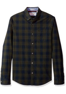 Original Penguin Men's P55 Plaid Shirt