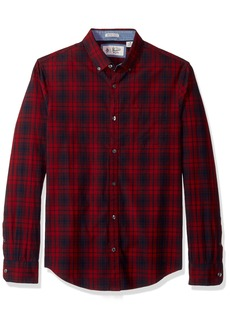 Original Penguin Men's P55 Plaid Shirt  Extra Large