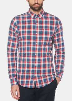 Original Penguin Men's P55 Stretch Check Shirt