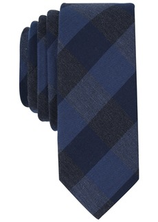 Original Penguin Men's Park Check Tie dark navy