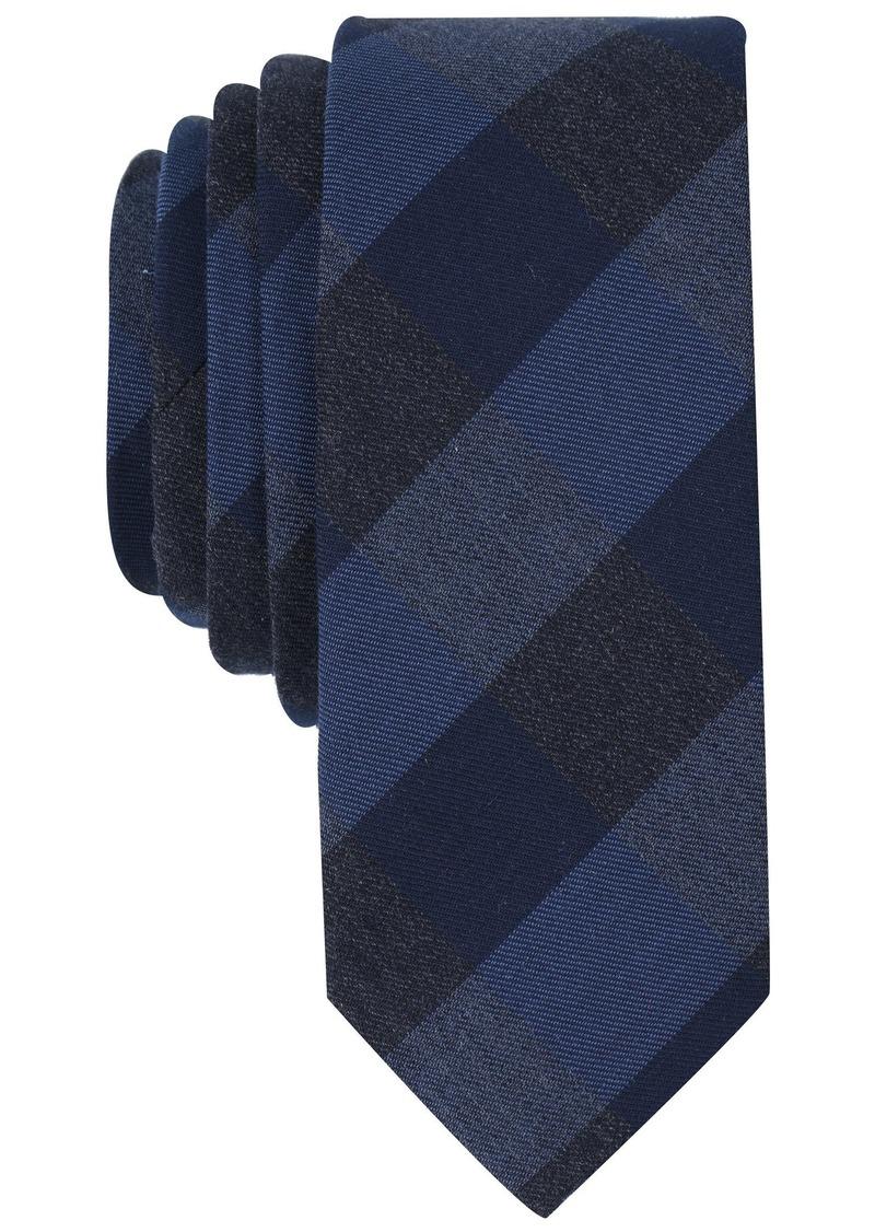 Original Penguin Men's Park Check Tie dark navy