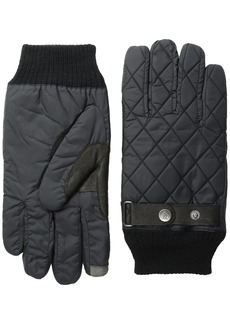 Original Penguin Men's Quilted Nylon Gloves