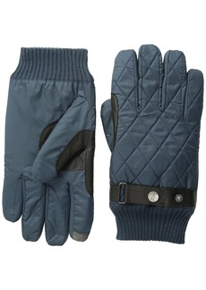 Original Penguin Men's Quilted Nylon Gloves  Small/Medium