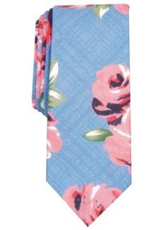 Original Penguin Men's Randall Floral Skinny Tie