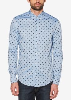 Original Penguin Men's Records Dot Chambray Pocket Shirt