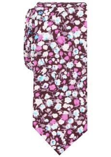 Original Penguin Men's Reese Skinny Floral Tie