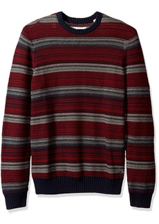 Original Penguin Men's Reverse Tuck Stitch Crew Sweater