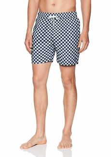 Original Penguin Men's Reversible Elastic Volley Swim Trunk