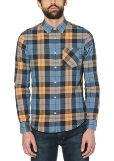 Original Penguin Men's Roadmap Jaspe Plaid Shirt