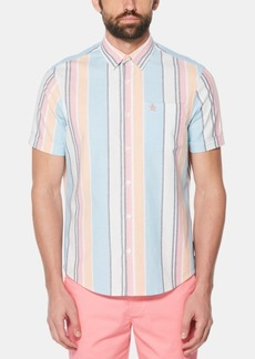 Original Penguin Men's Roadmap Stripe Shirt