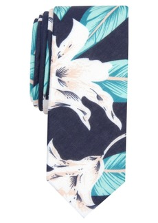 Original Penguin Men's Robyn Floral Skinny Tie
