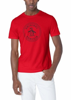 Original Penguin Men's Short Sleeve Circle Logo Tee