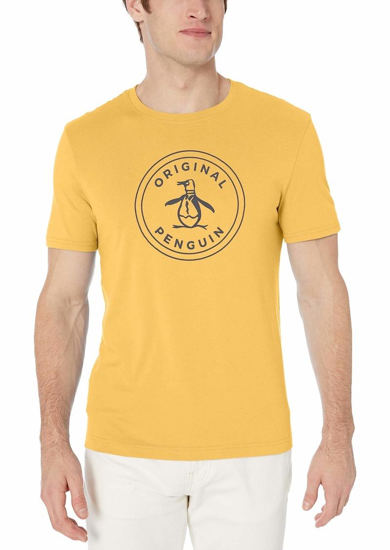 Original Penguin Men's Short Sleeve Circle Logo Tee  L