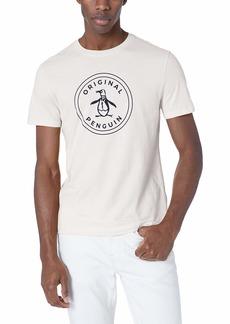 Original Penguin Men's Short Sleeve Circle Logo Tee  S