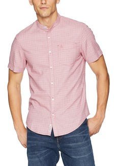 Original Penguin Men's Short Sleeve Crosshatch Shirt  Extra Large