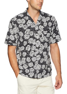 Original Penguin Men's Short Sleeve Exploded Daisy Shirt