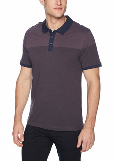 Original Penguin Men's Short Sleeve Feeder Stripe Polo  Extra Large