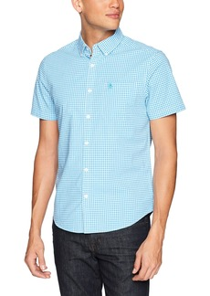Original Penguin Men's Short Sleeve Gingham with Stretch  Extra Large